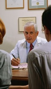 Physician with a Patient, Medical Consulting in Fort Lee, NJ